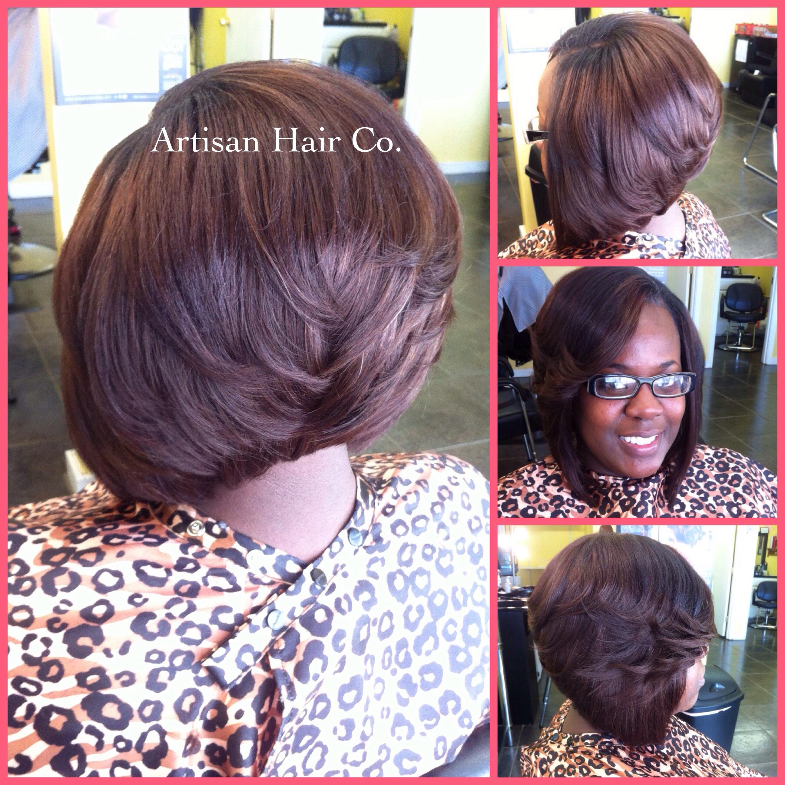 Strange Weave Bob Hairstyles With Side Part Photosgratisylegal Short Hairstyles Gunalazisus