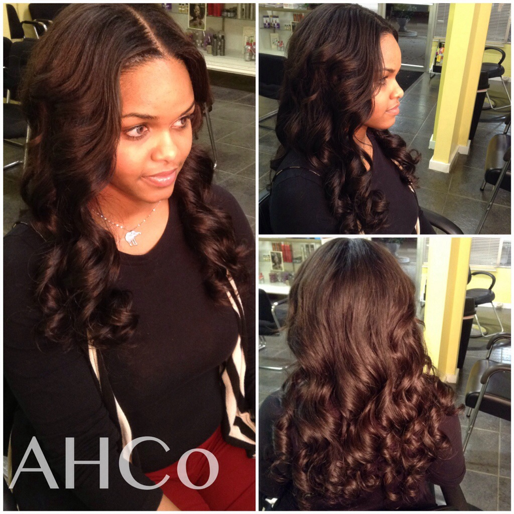 Extensions artisan hair company llc sew in with leave out jeuxipadfo Images