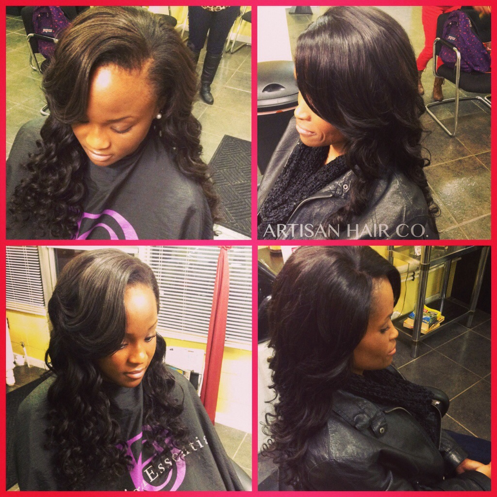 Virgin hair artisan hair company llc sew in w leave out sew in w lace closure jeuxipadfo Images