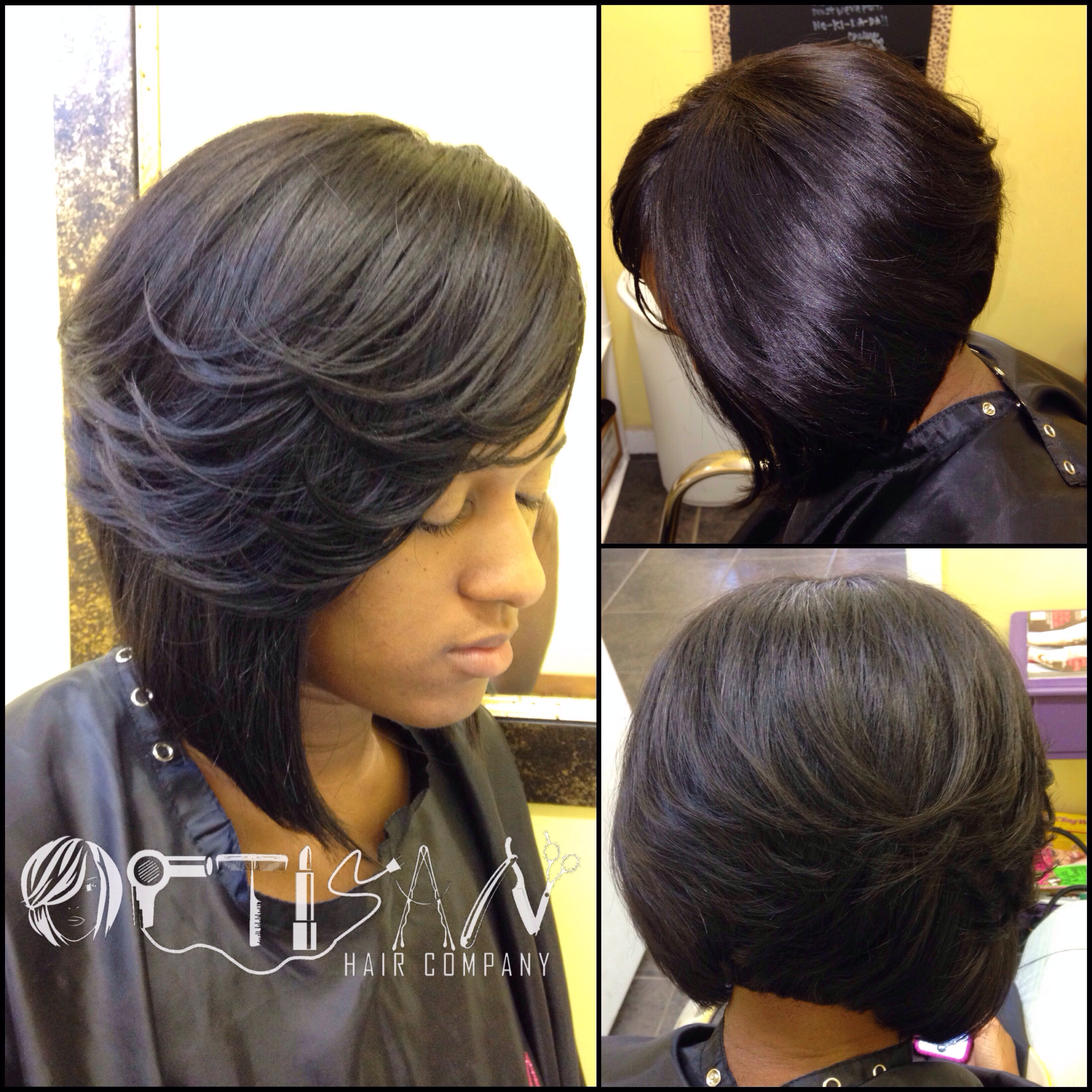 Full Sew in Bob No Leave Out